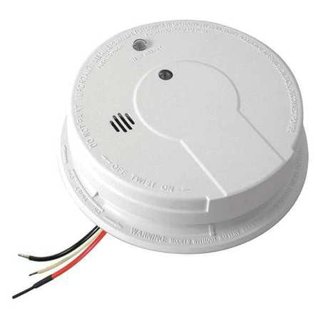 KIDDE DIRECT WIRE IONIZATION SMOKE DETECTOR, AC/DC