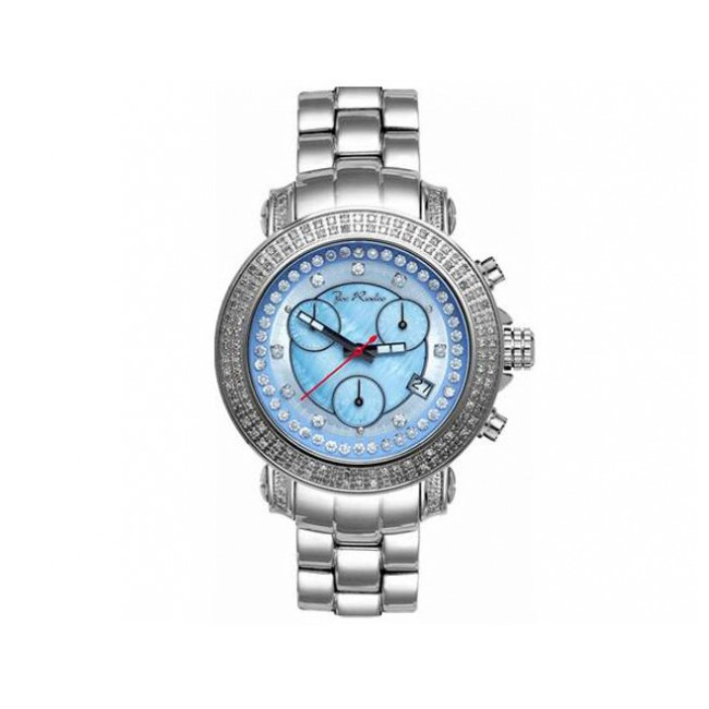 Women's Rio Blue Mother-of-Pearl Dial Diamond Watch
