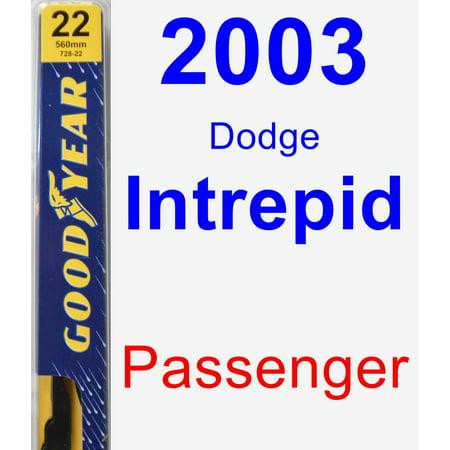 2003 Dodge Intrepid Passenger Wiper Blade - Premium
