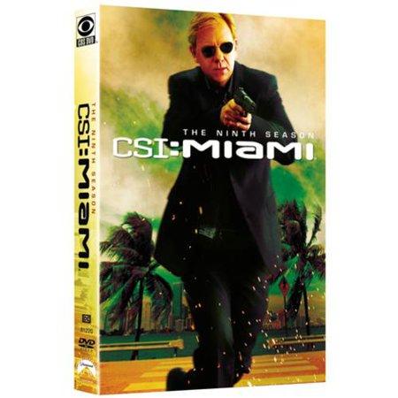 Csi  Miami   The Ninth Season  Widescreen