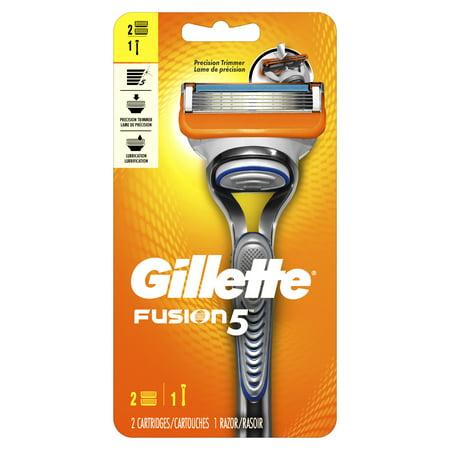 Razor Blades In Apples Halloween (Gillette Fusion5 Precision Men's Razor Handle and 2 Blade)