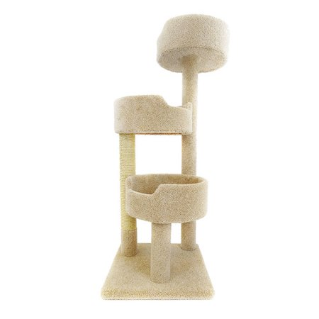 New Cat Condos 52 Deluxe Cat Tree