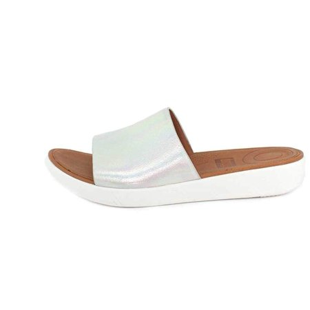 2bb26e518 FitFlop Women's Sola Slides-Iridescent Leather | Walmart Canada