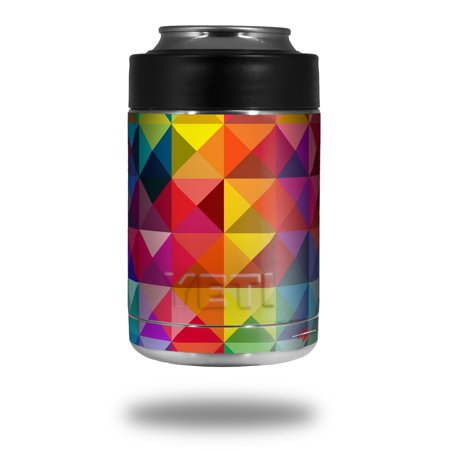 Skin Decal Wrap for Yeti Colster, Ozark Trail and RTIC Can Coolers - Spectrums (COOLER NOT INCLUDED) by WraptorSkinz