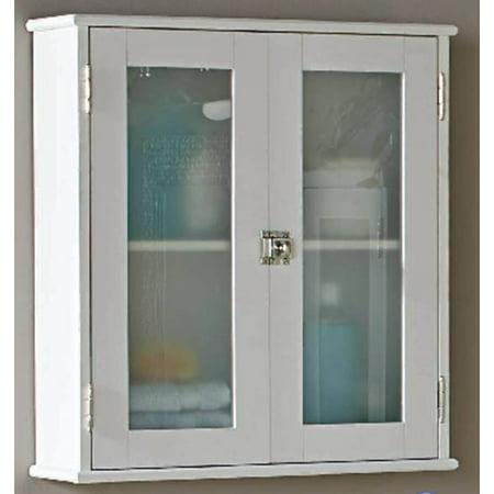 Better Homes & Gardens, Harborough Bathroom Storage Wall Cabinet, White