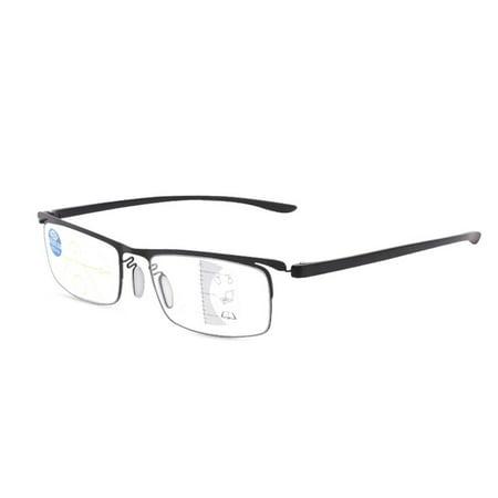 Progressive multi-focus metal solderless point automatic zoom reading glasses - image 3 of 10