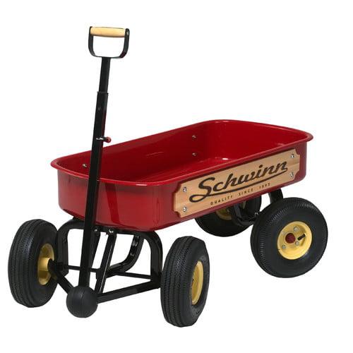Schwinn Quad Steer 4x4 Wagon - Red