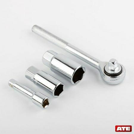 Spark Plug Socket Set (NEW 4 Pcs Tune Up Kit Drive Ratchet Extension Bar Spark Plug Socket)