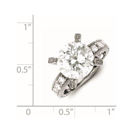 Sterling Silver CZ Ring - image 1 de 2
