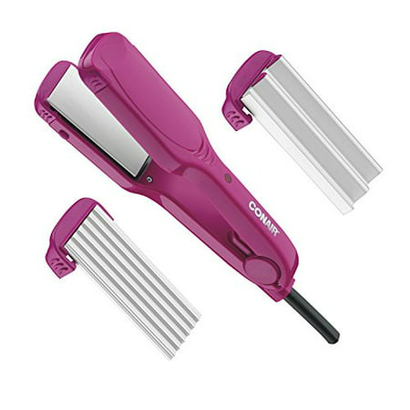 Conair 3-in-1 Straight Waves Flat Iron (Conair 2 In 1 Straightener & Curling Iron)