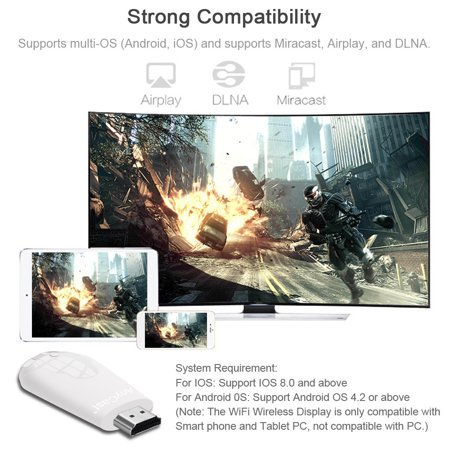 AnyCast K4-1 Wireless WiFi Display Dongle Receiver 1080P HD