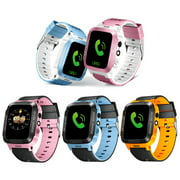 Kid Smart Watch with Tracker Phone Call 1.44Inch Waterproof Safe Anti-Lost Monitor Locator Tracking Bracelet Touch Screen Sport Smart Watch with Cam for Kids Gift