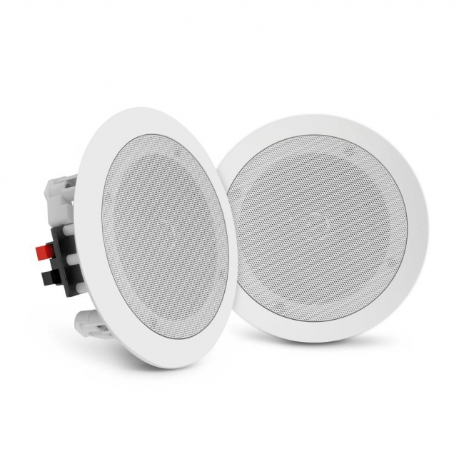 Pyle 65 InWall InCeiling Speakers 2Way Flush Mount Home