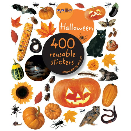 Eyelike Stickers: Halloween - Paperback - Halloween Books For Kindergarteners