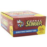 Honey Stinger Energy Gel, Ginsting, 24 Ct