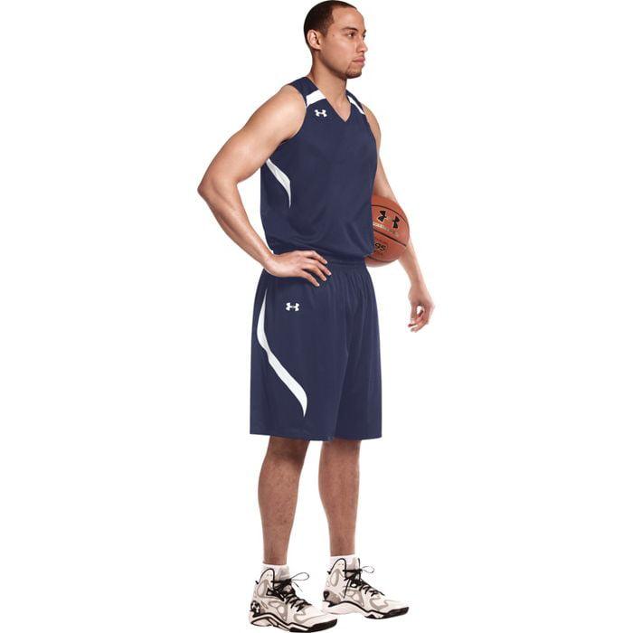Under Armour Men's Stock Clutch Reversible Basketball Jersey