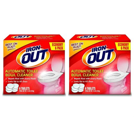 - Iron Out Automatic Toilet Bowl Cleaner Tablets, 12 Tablets