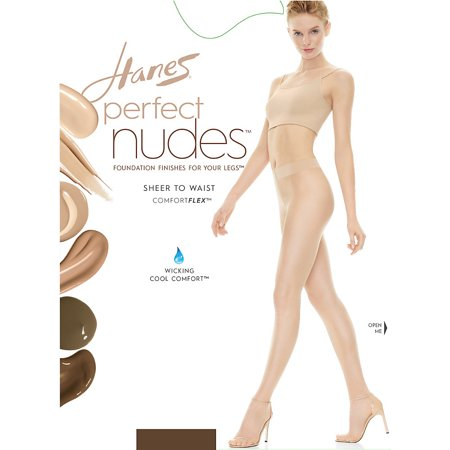 Hanes Perfect Nudes™ Sheer to Waist Run Resistant Light Tummy Control Hosiery - PN0002