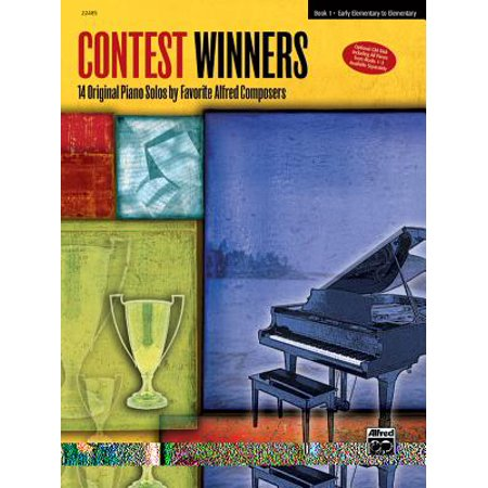 Contest Winners, Bk 1 : 14 Original Piano Solos by Favorite Alred Composers](Costume Contest Winner Ideas)
