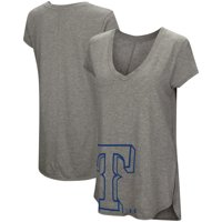 c65772b0d05 Product Image Texas Rangers Under Armour Women s Pride Offset Logo V-Neck  Performance Tri-Blend T