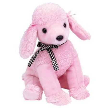 TY Beanie Buddy - BRIGITTE the Poodle Dog Plush Poodle Dog