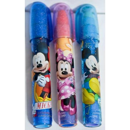Disney Mickey Mouse & Minnie Pocket Pop Eraser 6 Piece (Mickey And Minnie Mouse Invitations)