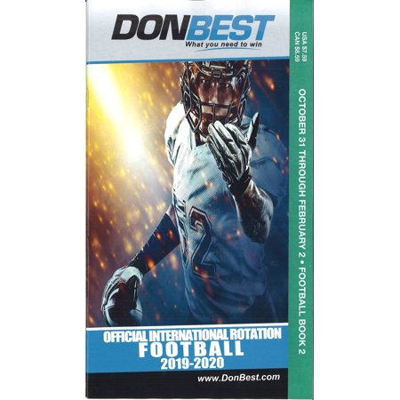DON BEST FOOTBALL ROTATION SCHEDULE BOOK TWO