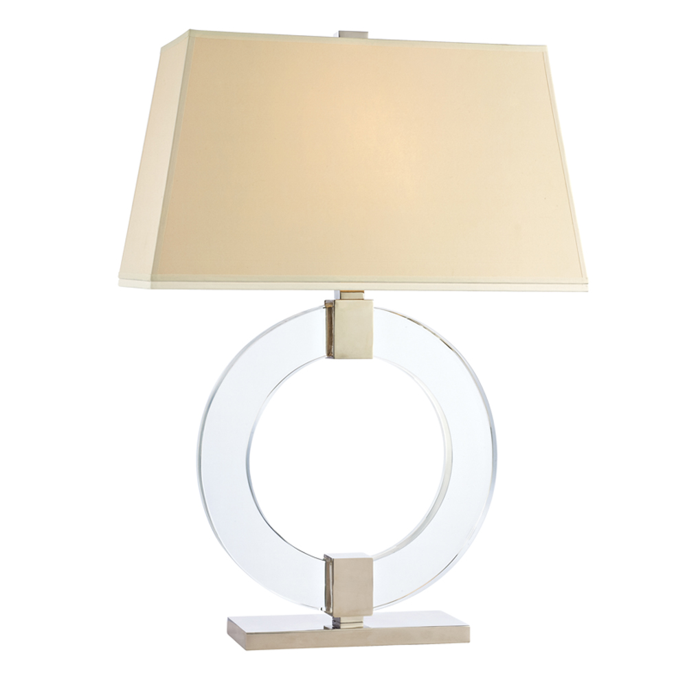 Hudson Valley L606-PN-WS 1 LIGHT SMALL TABLE LAMP WIT