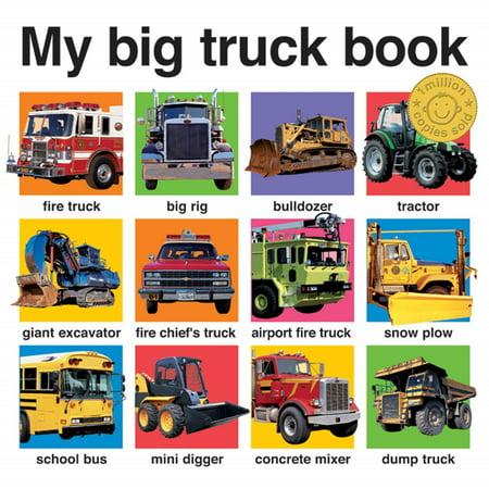 My Big Truck Book (Board Book) Black Book For Trucks