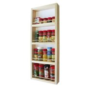 WG Wood Products Elgin On The Wall Spice Rack (14 inches wide x 3.5 inches deep)
