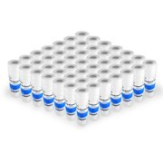 """String Wound Sediment Water Filter Cartridge Standard 2.5x10"""" 5 Micron 50 Pack"""