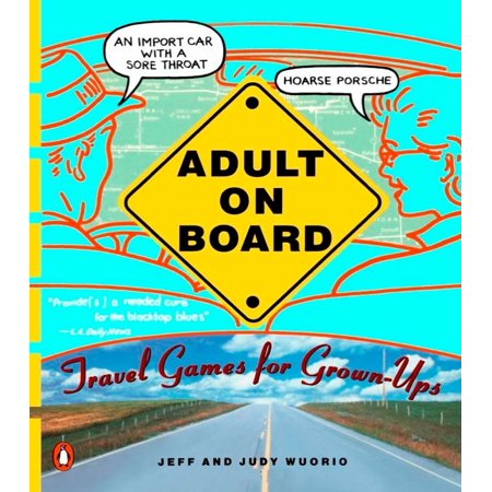 Adult on Board : Travel Games for Grown-Ups