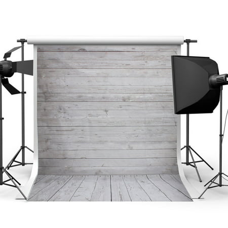 5x7FT Retro Vintage Christmas Wooden Wall Floor Photography Photo Booth Party Backdrop Vinyl Fabric Background Photo Lighting Studio Props Equipment - Halloween Photo Booth Backdrop