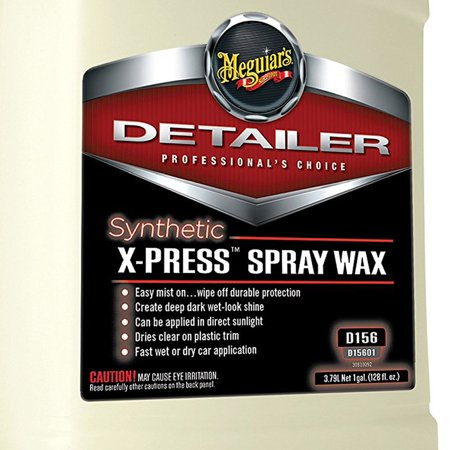 Meguiar's Synthetic X Press Detailer Spray Auto Wax Mist, 1 Gallon (2 Pack) - image 2 of 3