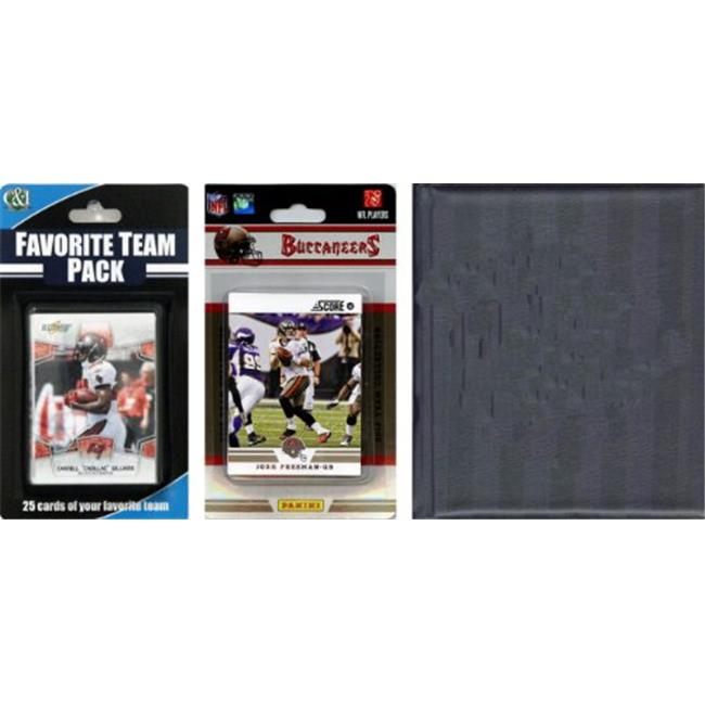 C & I Collectables 2012BUCSTSC NFL Tampa Bay Buccaneers Licensed 2012 Score Team Set and Favorite Player Trading Card