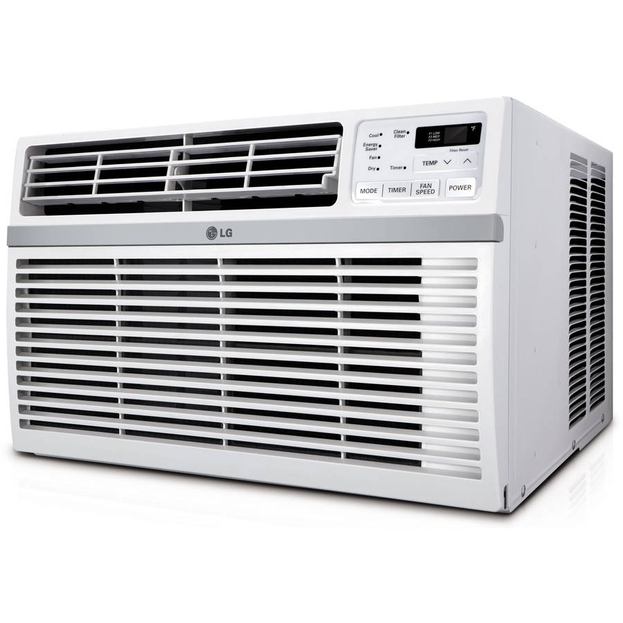LG Electronics LW8014ER Energy Star Qualified 8,000-BTU 115V Window-Mounted Air Conditioner with Remote Control