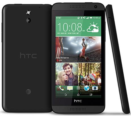 HTC Desire 610 8GB AT&T Unlocked Black by HTC