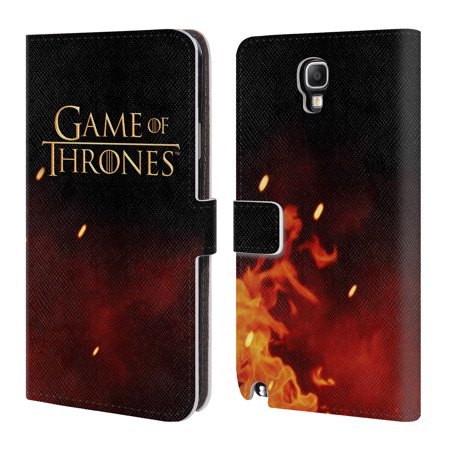 Official Hbo Game Of Thrones Key Art Leather Book Wallet Case Cover For Samsung Phones 1