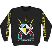 Comeback Kid Men's  Diamond Sweatshirt Black