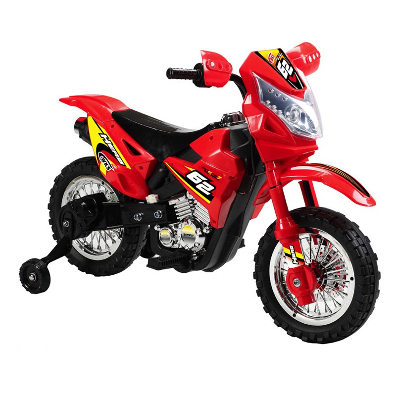 Vroom Rider Dirt Bike Motorcycle Battery Powered Riding Toy - Orange