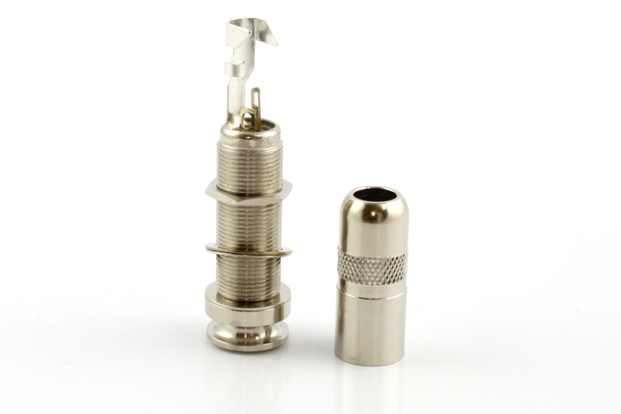 Switchcraft Nickel End Pin Jack by