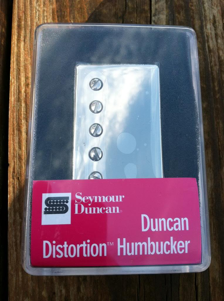 Seymour Duncan Distortion SH-6 BRIDGE Humbucker Guitar Pickup Nickel Cover by Seymour Duncan
