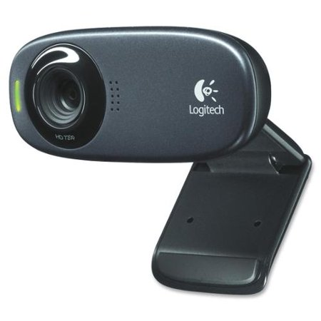 Logitech C310 Webcam - Black - USB 2.0 - 1 Pack - 1280 x 720