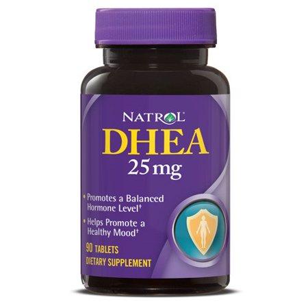 Natrol DHEA comprimés de 25 mg, 90 Ct