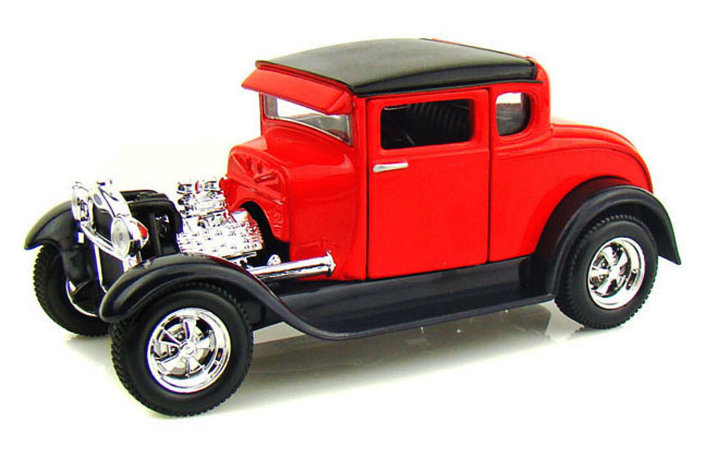1929 Ford Model A, Red Maisto 31201 1 24 Scale Diecast Model Toy Car by Maisto