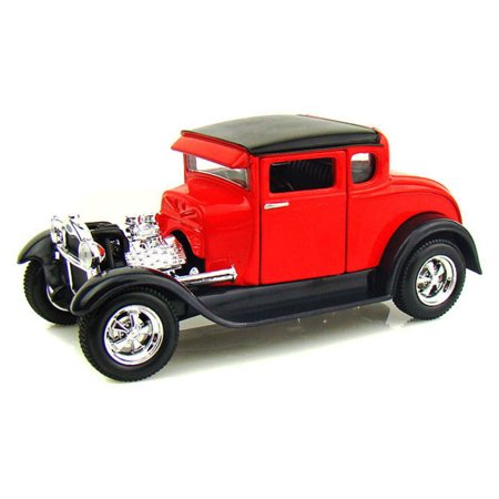 1929 Ford Model A, Red - Maisto 31201 - 1/24 Scale Diecast Model Toy Car