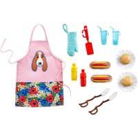 Barbie Pioneer Woman Ree Drummond Cooking Accessory Set- BBQ