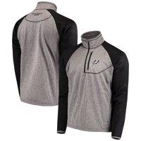 San Antonio Spurs G-III Sports by Carl Banks Mountain Trail Half-Zip Pullover Jacket - Gray/Black