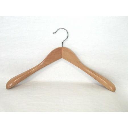 Proman Taurus Wide Shoulder Heavy Coat Hanger - 12 Pieces