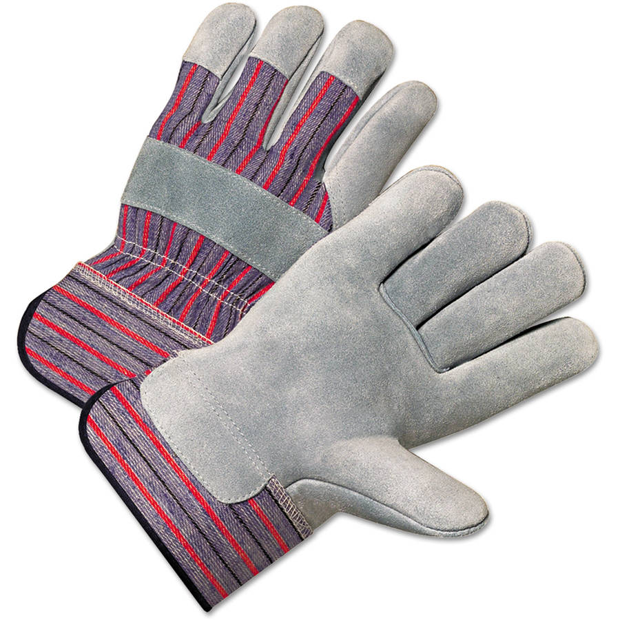 Anchor Brand - 4000 Series Leather Driver Gloves, White, Large